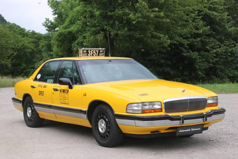 Buick Park Avenue New York Taxi 1992