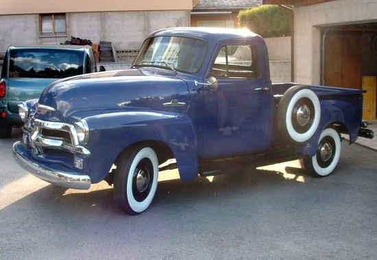 Chevrolet 3100 Pickup First Series 1955