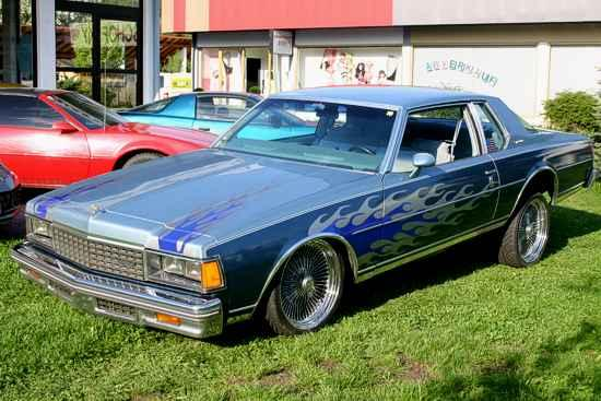 Chevrolet Caprice Coupe 1978 Lowrider