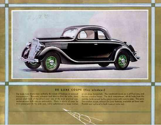 Ford De Luxe Coupe 1935