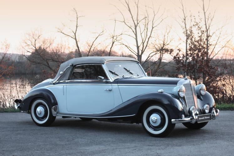 Mercedes 170 S Cabriolet A 1950
