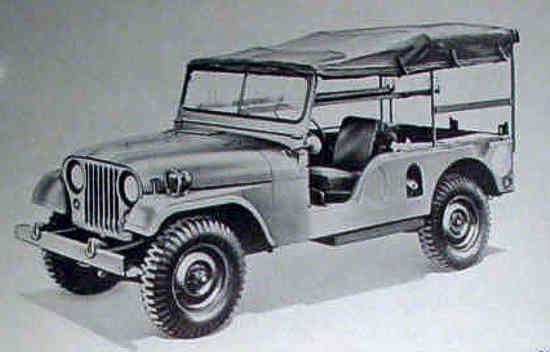 Willys Jeep M-170 Feldambulanz 1955