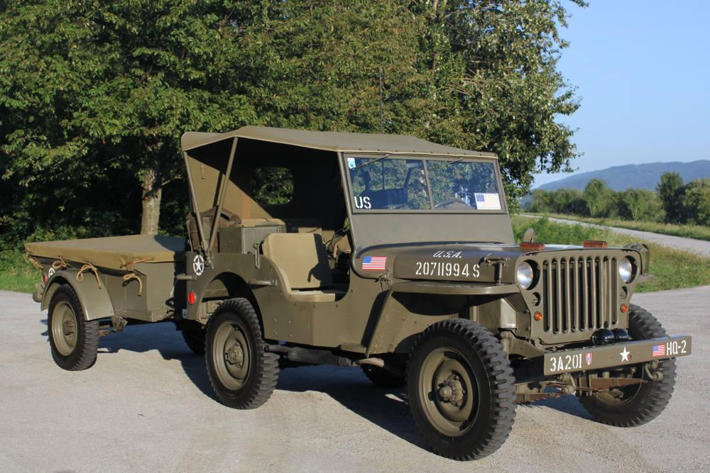 Route Occasion Jeep Willys Mb